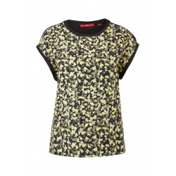 Jerseyshirt with blouse front by s.Oliver Red Label