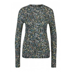 Long sleeve shirt with floral print by Q/S designed by