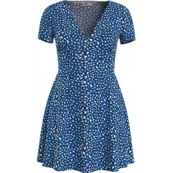 Dress with allover pattern by Tommy Jeans