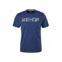 T-shirt with wording print by s.Oliver Red Label