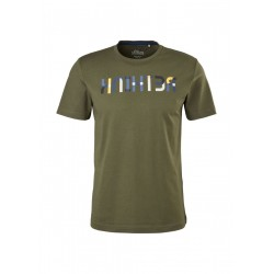 T-Shirt mit Wording-Print by s.Oliver Red Label
