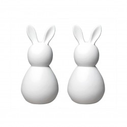 Porcelain bunnies set of 2 by Räder