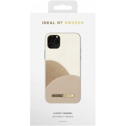 Housse CLOUDY CARAMEL (iPhone 11 Pro/XS/S) by iDeal of Sweden