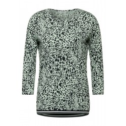 Shirt with animal print by Cecil