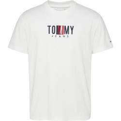 T-shirt with front print by Tommy Jeans