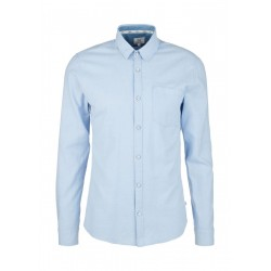 Extra Slim: soft cotton shirt by Q/S designed by