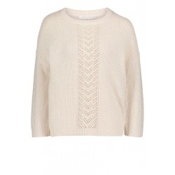 Pull-over en grosse maille by Betty & Co
