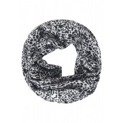 Animal And Foil Print Loop by Cecil