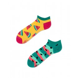 Chaussettes WATERMELON SPLASH LOW by Many Mornings