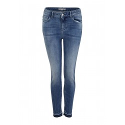Skinny Fit: Skinny leg-Jeans by comma CI