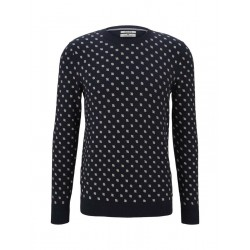 Patterned sweater by Tom Tailor