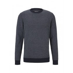 Sweater with stripes by Tom Tailor Denim