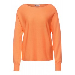 Sweater with dolman sleeves by Street One