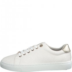 Sneaker with textured pattern by s.Oliver Red Label