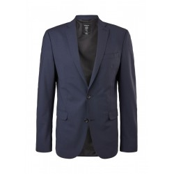 Slim fit: jacket with hyperstretch by s.Oliver Black Label