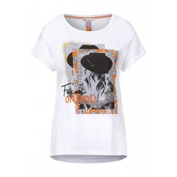 small photoprint shirt w. ston by Street One