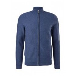 Jacket with ribbed stand up collar by s.Oliver Red Label