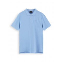 Polo en piqué de coton biologique by Scotch & Soda