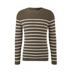 Knitted sweater with stripes by s.Oliver Red Label