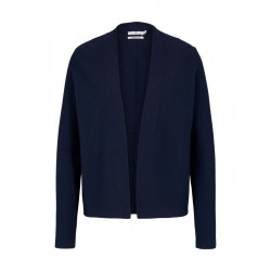 Cardigan en coton structuré by Tom Tailor