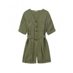 Jumpsuit SAFARI GREEN by Yerse