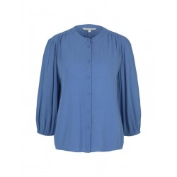 Blouse with balloon sleeves by Tom Tailor Denim