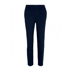 Relaxed fit trousers with elastic waistband by Tom Tailor Denim