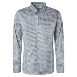 Regular Fit: chemise à manches longues by No Excess