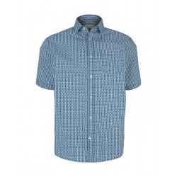 Regular Fit: chemise à manches courtes by Tom Tailor