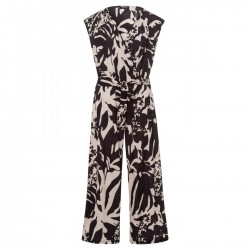 Printed Slinky Jumpsuit by More & More