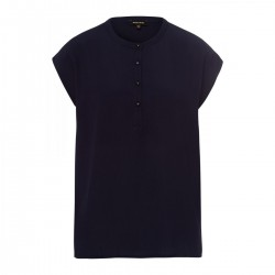 Crepe Front Shirt by More & More