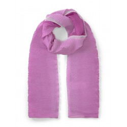 Pleated scarf with a gradient by Tom Tailor