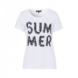 T-Shirt mit Stickerei by More & More