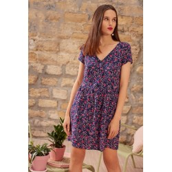 Robe STEPHANETTE MIRZA MARINE by Des petits Hauts