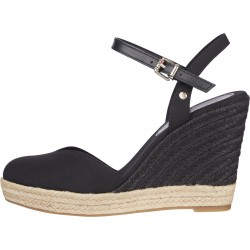 Closed toe wedge sandals by Tommy Hilfiger