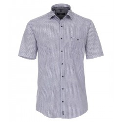 Casual Fit: chemise à manches courtes by Casamoda