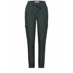 Pantalon cargo coupe ample by Cecil