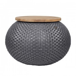 Table basse HALO (Ø56x40cm) by Handed by