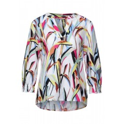 Bluse mit Print by Street One