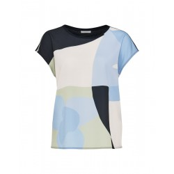 Print-Shirt SAFEDA SHAPES by Opus