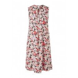 Viscose dress with all-over print by Q/S designed by