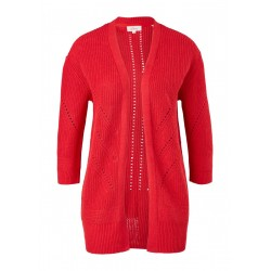 3/4-Arm-Cardigan aus Leinenmix by s.Oliver Red Label