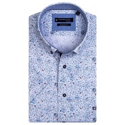 Regular Fit: chemise à manches courtes by Giordano