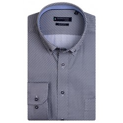 Regular Fit: chemise à manches longues by Giordano