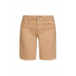 Slim fit: Bermuda shorts with embroidery by s.Oliver Red Label