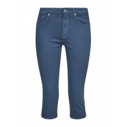 Jeans with an embroidered waistband by s.Oliver Red Label