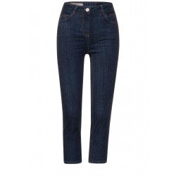 Pantalon coupe slim 3/4 by Cecil