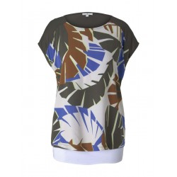 Palmen T-Shirt mit Print by Tom Tailor