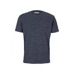T-Shirt in Melange-Optik by Tom Tailor