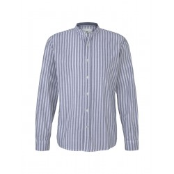 Chemise rayée à col montant by Tom Tailor